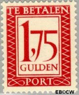 Nederland NL P106  1947 Portzegel 175 cent  Gestempeld