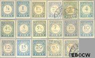 Nederland NL P44#P60  1912 Portzegel  cent  Gestempeld
