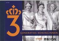 Nederland NL PR24  2009 3 generaties Koninginnen  cent  Postfris