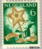 Nederland NL R100  1933 Drie-koningenfeest 6+4 cent  Gestempeld