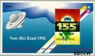 Nederlandse Antillen NA 1016  1992 Kinderen en ruimte 90 cent  Postfris