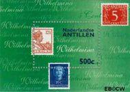 Nederlandse Antillen NA 1240  1998 N.V.P.H. postzegelshow Den Haag 110+45 cent  Postfris