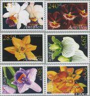 Nederlandse Antillen NA 1640#1645  2006 Orchidieeën  cent  Postfris