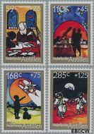 Nederlandse Antillen NA 1952#1955  2009 Telescoop  cent  Postfris