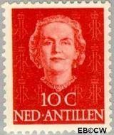Nederlandse Antillen NA 220  1950 Type 'En Face' 10 cent  Gestempeld