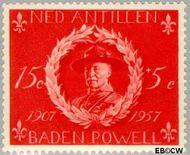 Nederlandse Antillen NA 260  1957 Padvinderij 15+5 cent  Gestempeld
