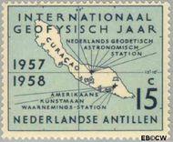 Nederlandse Antillen NA 270  1957 Internationaal Geofysisch jaar 15 cent  Gestempeld