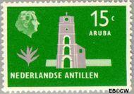 Nederlandse Antillen NA 280  1958 Landschappen 15 cent  Gestempeld