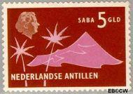 Nederlandse Antillen NA 290  1958 Landschappen 500 cent  Gestempeld