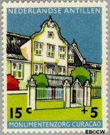 Nederlandse Antillen NA 300  1959 Monumentenzorg 15+5 cent  Gestempeld