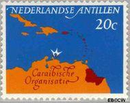 Nederlandse Antillen NA 351  1964 Caraïbische Raad 20 cent  Gestempeld