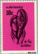 Nederlandse Antillen NA 386  1967 Sociaal en cultureel werk  cent  Postfris