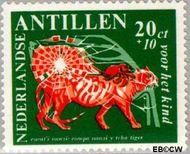 Nederlandse Antillen NA 391  1967 Nanzi-verhaal 6+3 cent  Gestempeld
