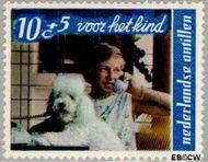 Nederlandse Antillen NA 401  1968 Kind en dier  cent  Gestempeld