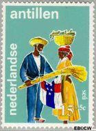 Nederlandse Antillen NA 411  1969 Folklore 15+5 cent  Gestempeld