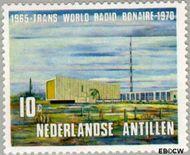 Nederlandse Antillen NA 421  1970 Zendstation Bonaire 10 cent  Gestempeld