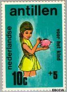 Nederlandse Antillen NA 431  1970 Activiteiten kinderen 10+5 cent  Gestempeld