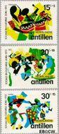 Nederlandse Antillen NA 452#454  1972 Muziek  cent  Gestempeld