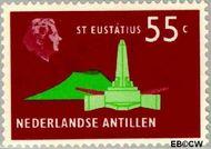 Nederlandse Antillen NA 461  1973 Landschappen 55 cent  Gestempeld