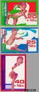 Nederlandse Antillen NA 525#527  1976 Kinderverzorging  cent  Gestempeld