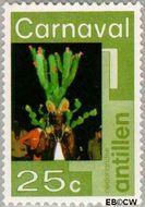 Nederlandse Antillen NA 531  1977 Carnaval 25 cent  Gestempeld