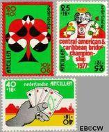 Nederlandse Antillen NA 541#543  1977 Amphilex '77  cent  Gestempeld