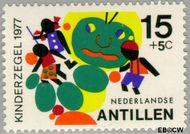 Nederlandse Antillen NA 551  1977 Fantasie-dieren 15+5 cent  Gestempeld