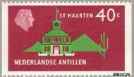 Nederlandse Antillen NA 561  1977 Landschappen 40 cent  Gestempeld