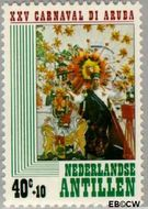 Nederlandse Antillen NA 616  1979 Arubaans carnaval 40+10 cent  Gestempeld