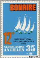 Nederlandse Antillen NA 626  1979 Sailing Regatta 35 cent  Gestempeld