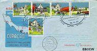 Nederlandse Antillen NA E10  1959 Monumentenzorg  cent  FDC zonder adres