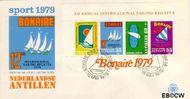 Nederlandse Antillen NA E122a  1979 Sailing Regatta 25+10 cent  FDC zonder adres