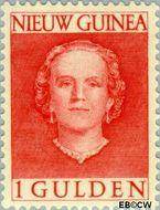 Nieuw-Guinea NG 19  1953 Type 'En Face' 100 cent  Gestempeld