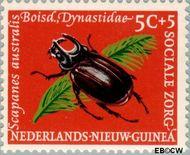 Nieuw-Guinea NG 69  1961 Sociale zorg 5+5 cent  Gestempeld