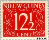 Nieuw-Guinea NG 9  1950 Type 'van Krimpen' 12½ cent  Gestempeld