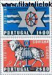 POR 1111#1112 Postfris 1970 Stadsrechten Cavilha