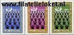 POR 1149#1151 Postfris 1971 De martelaren van Brazilië
