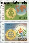 POR 1480#1481 Postfris 1980 Rotary