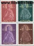 POR 864#867 Postfris 1958 Feest Heilige Isabelle en Theonius