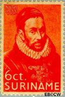 Suriname SU 150  1933 Prins Willem I 6 cent  Gestempeld
