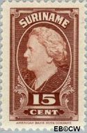 Suriname SU 230  1945 Koningin Wilhelmina 15 cent  Gestempeld