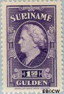 Suriname SU 240  1945 Koningin Wilhelmina 150 cent  Gestempeld