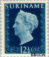 Suriname SU 261  1948 Koningin Wilhelmina 12½ cent  Gestempeld