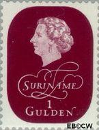Suriname SU 331  1959 Koningin Juliana 100 cent  Gestempeld