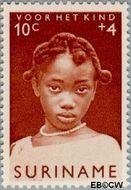 Suriname SU 399  1963 Surinaamse kinderen 10+4 cent  Gestempeld