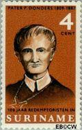 Suriname SU 449  1966 Paters Redemptoristen 4 cent  Gestempeld