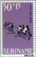 Suriname SU 509  1968 Kinderspelen 30+15 cent  Gestempeld