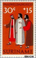 Suriname SU 599  1973 Paassymbolen 30+15 cent  Gestempeld