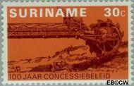 Suriname SU 639  1975 Concessiebeleid 30 cent  Gestempeld