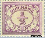 Suriname SU 69  1913 Drukwerkzegel ½ cent  Gestempeld